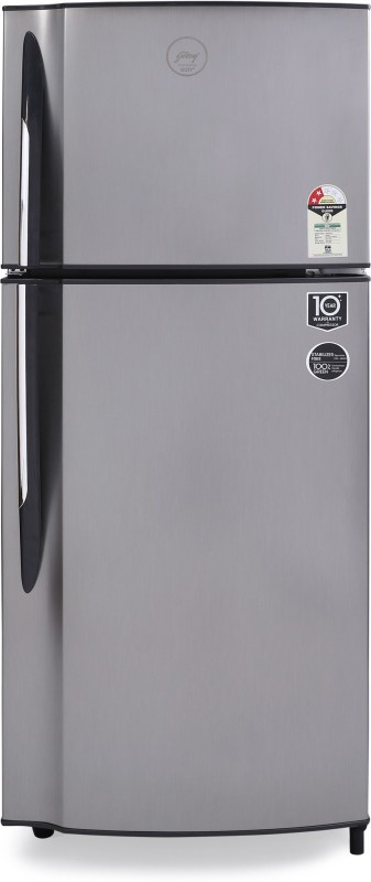 Godrej 236 L Frost Free Double Door 2 Star Refrigerator(Sleek Steel, R F GF 2362 PTH SLK STL)