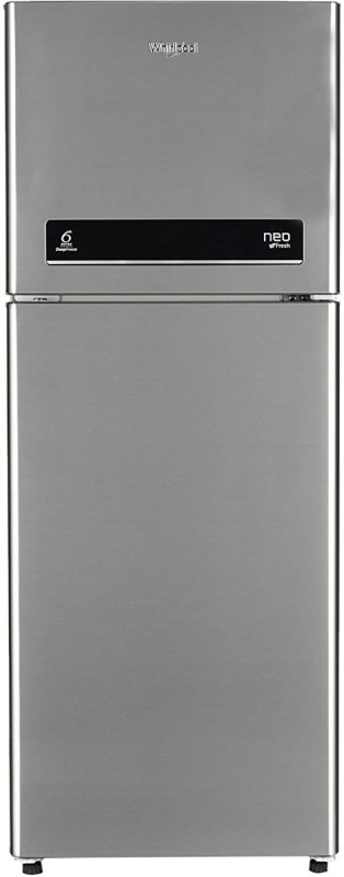 Whirlpool 245 L Frost Free Double Door 3 Star Refrigerator(Arctic Steel, Neo DF258 Roy)