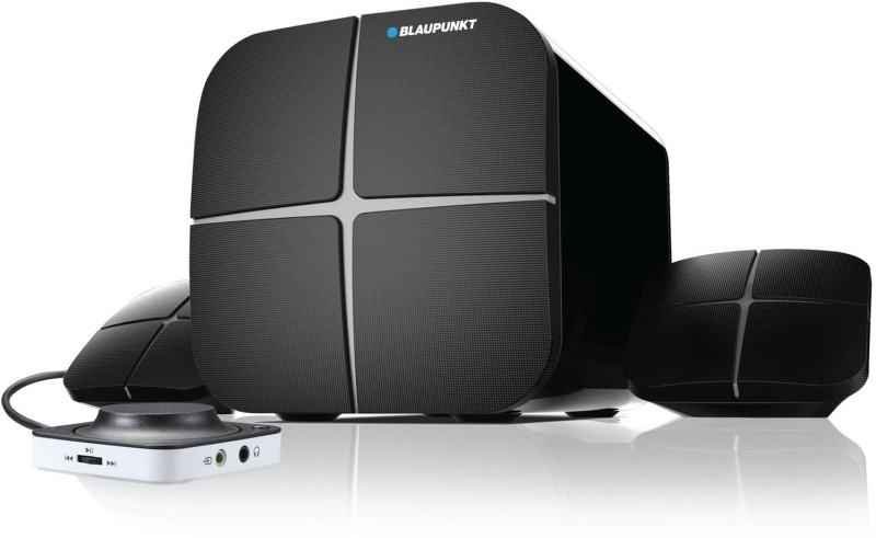 Blaupunkt SP 212 40 W Bluetooth Home Audio Speaker(Black, 2.1 Channel)