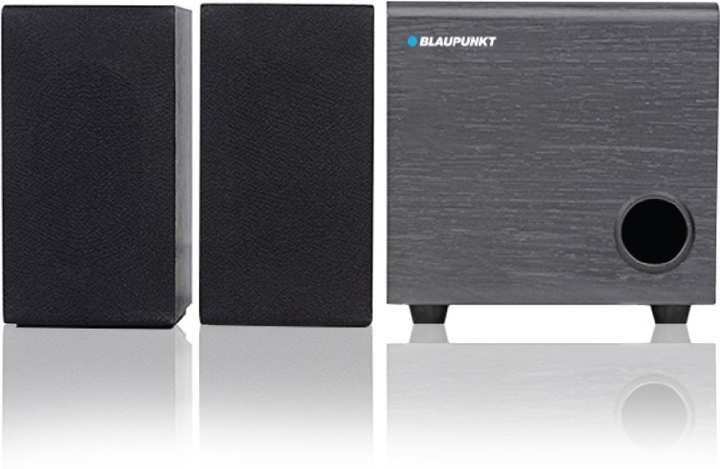 Blaupunkt SP-210 10 W Home Audio Speaker(Black, 2.1 Channel)