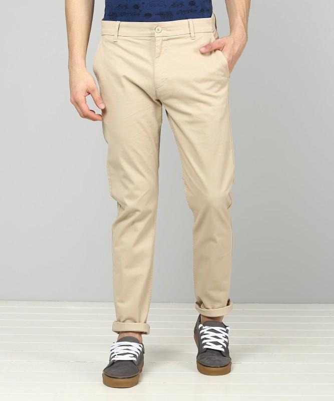 Levi's Slim Fit Men's Beige Trousers