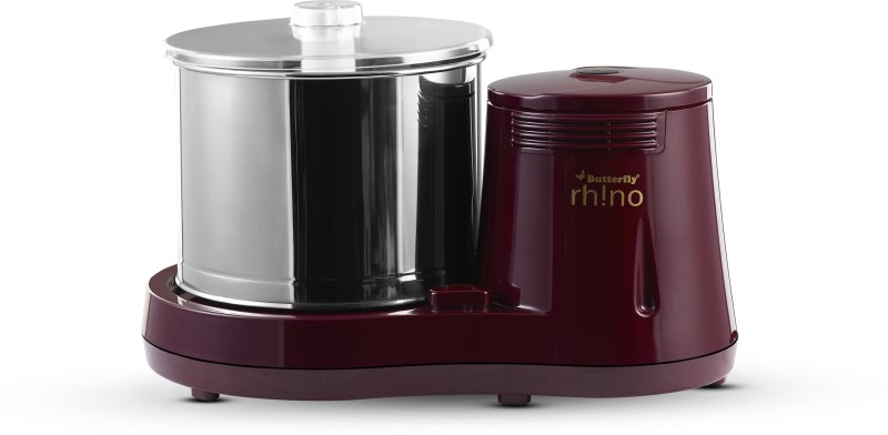 Butterfly Rhino 2 Ltr Wet Grinder(Red)