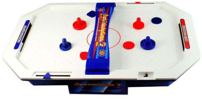INDMART Toy Battery Operated Big Size Air Hockey for kids Board Game Air Hockey Table