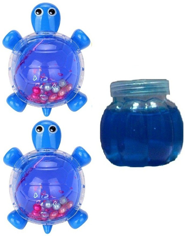 S2KCrafts S2KC-1942 Tortoise Clay & Jelly Jar (Pack of 3) Art Clay(1.5 g)