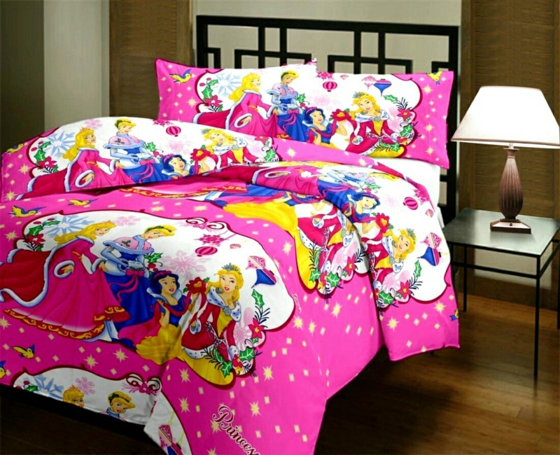 SANWARIYAN Cartoon Single Dohar(Microfiber, Multicolor)