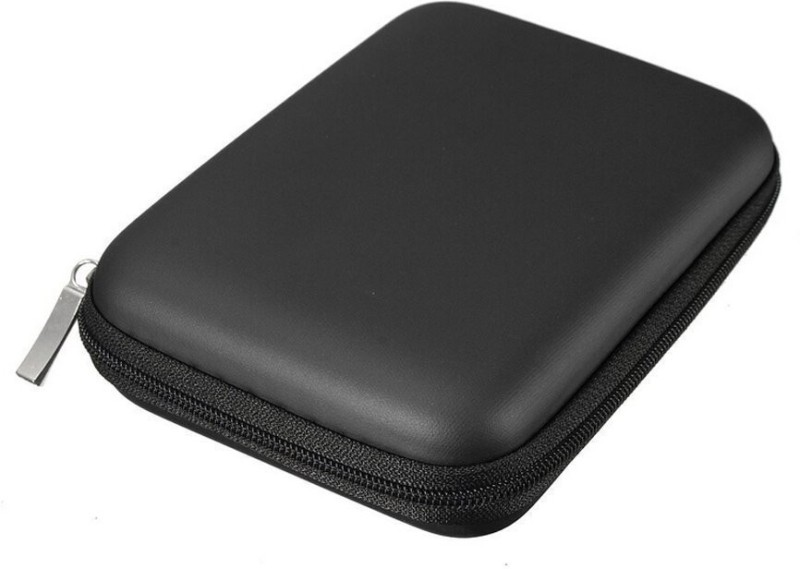 """Upvsales Pouch for 2.5"""" USB HDD Pouch Black For External Hard Drive Seagate, WD, Lenovo, HP, Dell(Black, Shock Proof)"""