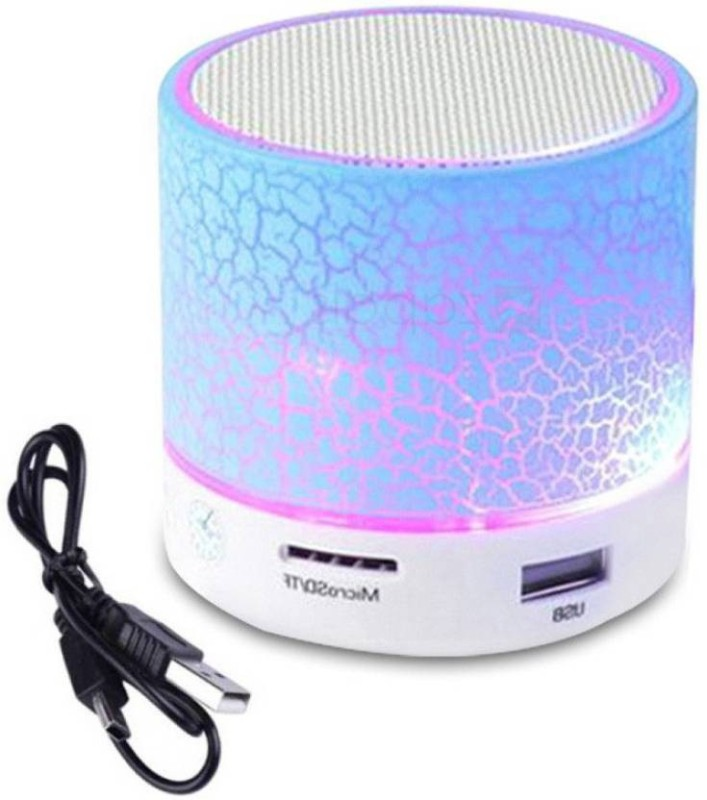 hoatzin Mini S10 Wireless Bluetooth With High Quality Sound Bluetooth Speaker-063 3 W Bluetooth Speaker(Blue, 2.1 Channel)