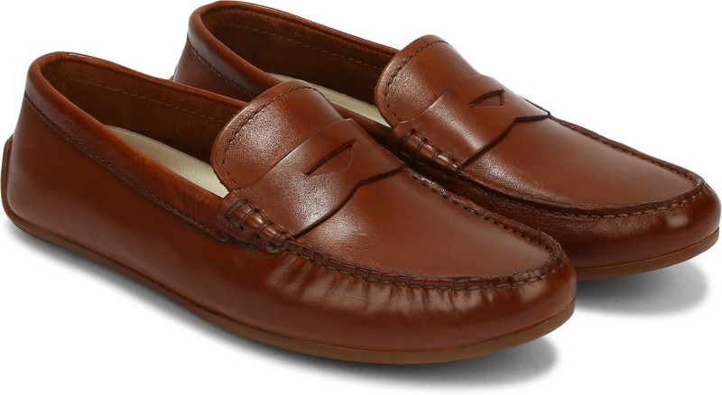 Clarks Reazor Drive Loafers For Men(Tan