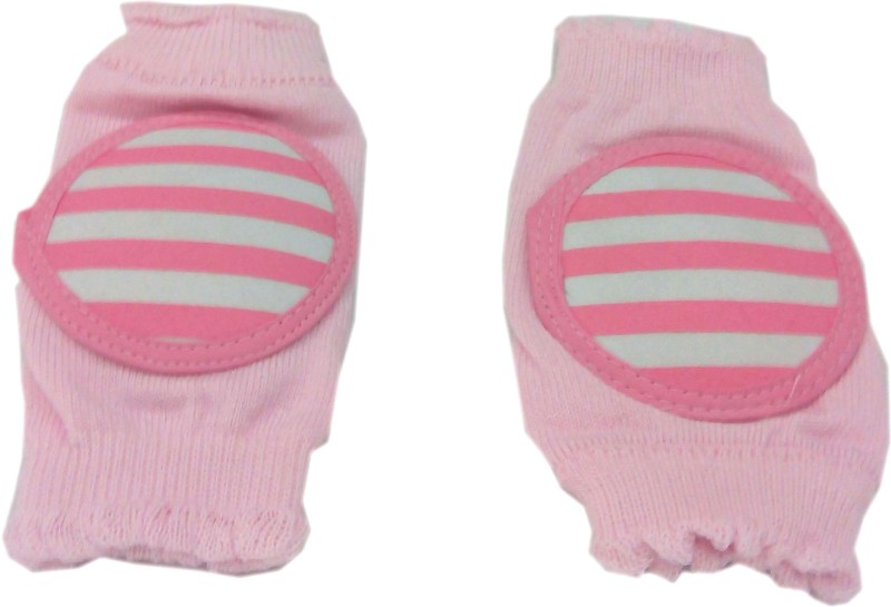 Baby's Clubb Protective Pad Pink Baby Knee Pads(Star)