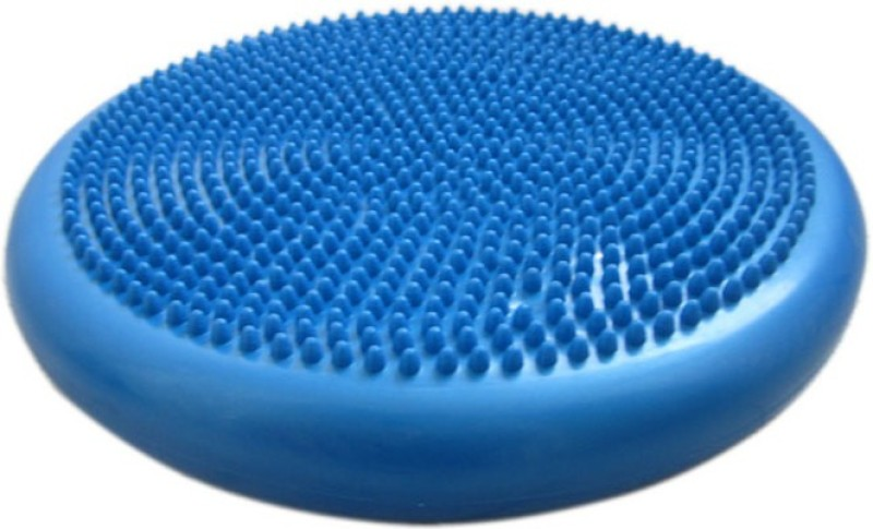 FITGURU Inflated Stability Balance Cushion Pad (Blue) For Exercise & Fitness Use Home&Gym Wobble Board Fitness Balance Board(Blue)