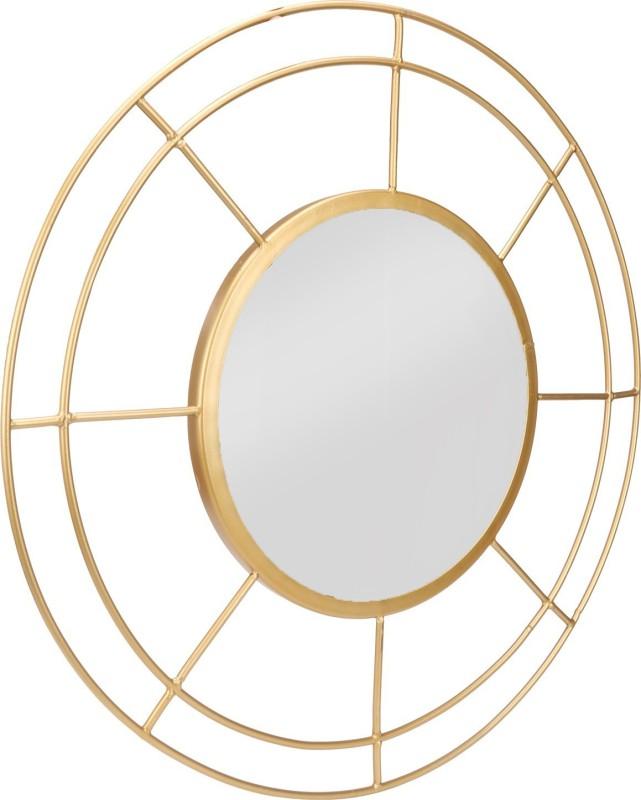 Zincopp CL1 Decorative Mirror(Designer Finish : Gold)