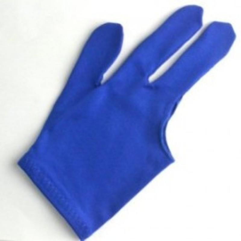Cuepoint CLUB 147 Billiard Gloves (Free Size, Blue)
