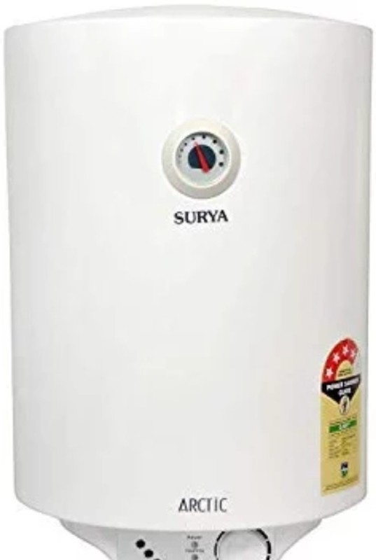 Surya 25 L Storage Water Geyser (Arctic glasslined new, White)