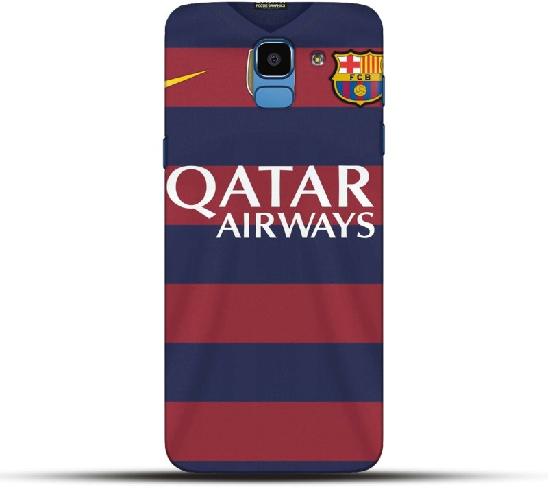 Pikkme Back Cover for Qatar Airways Samsung Galaxy J6 2018(Multicolor, Hard Case)