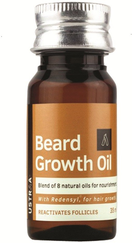 Ustraa By Happily Unmarried Mooch and Beard Growth Oil -...