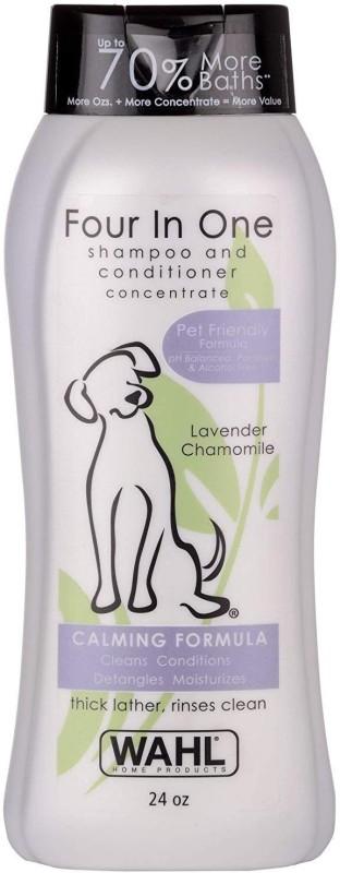Wahl 820000 4-in-1 Shampoo, Lavender Chamomile Conditioning Lavender Chamomile1 Dog Shampoo(710 ml)