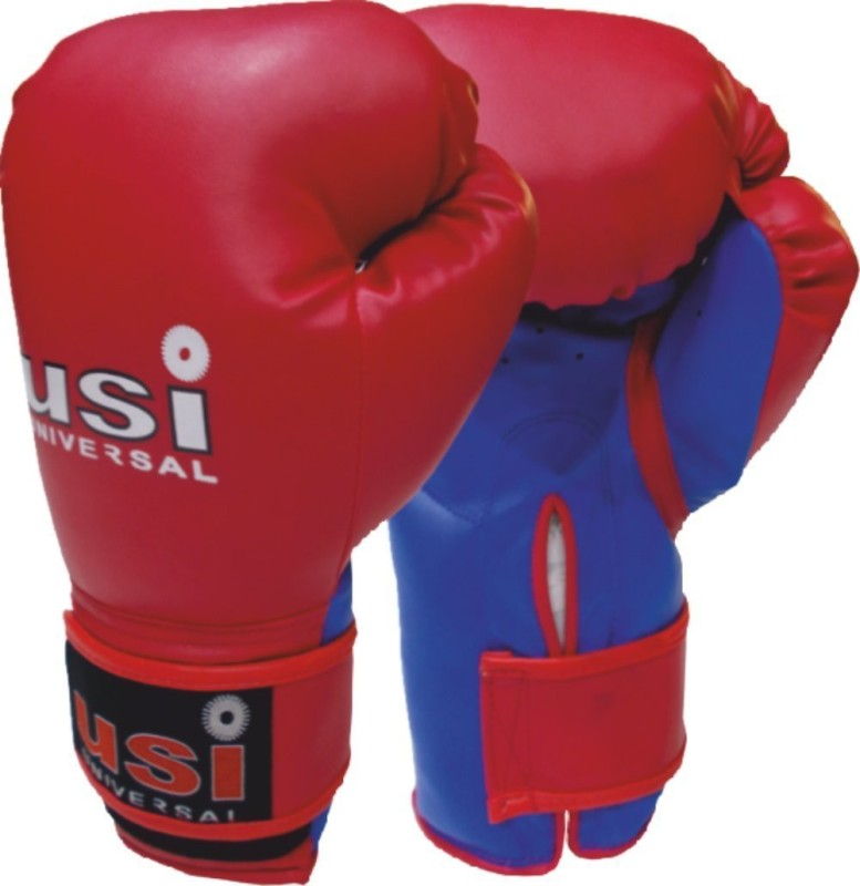 USI BOUNCER BOXING GLOVE Boxing Gloves (S, Red)