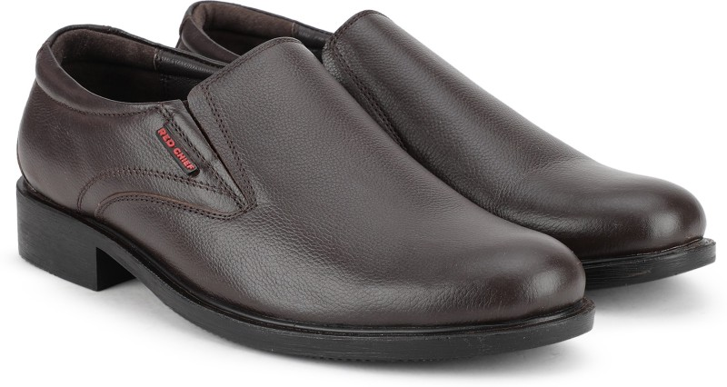 Red Chief RC3502 003 Slip On For Men(Brown)