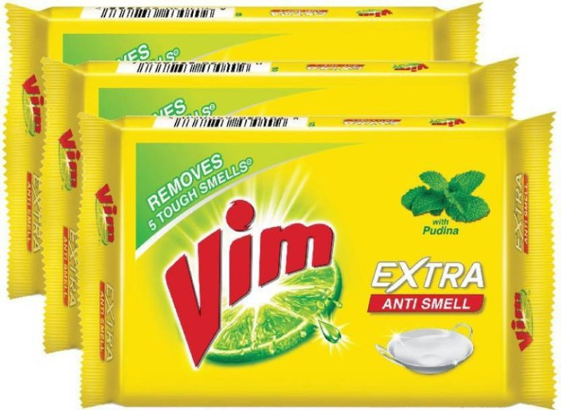 vim Anti Dishwash Bar 150g (pack of 5) Dishwash Bar(150 g)