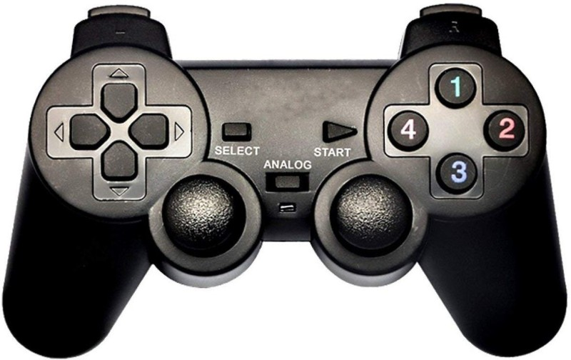 Electrobot USB Game pad with Vibration E-GPV USB  Gamepad(Black, For PC)
