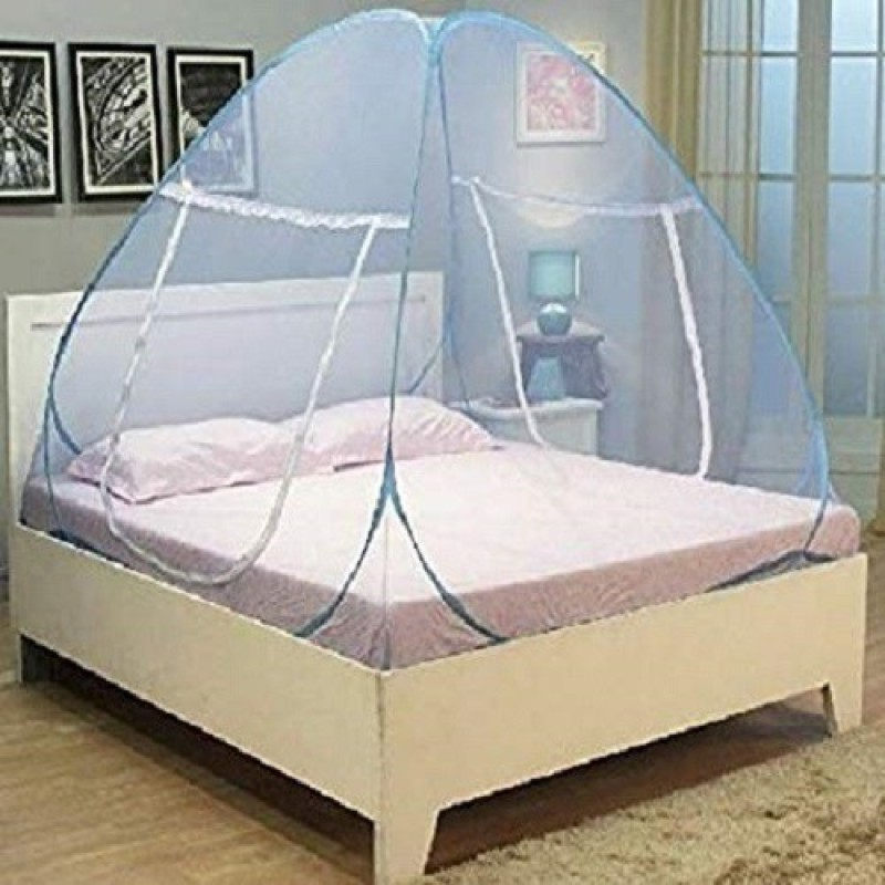 indox Mosquito Folding Double Bed Net Insect Net