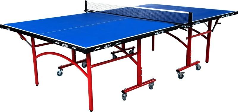 Stag Elite Outdoor Weatherproof Rollaway Outdoor Table Tennis Table(Blue)