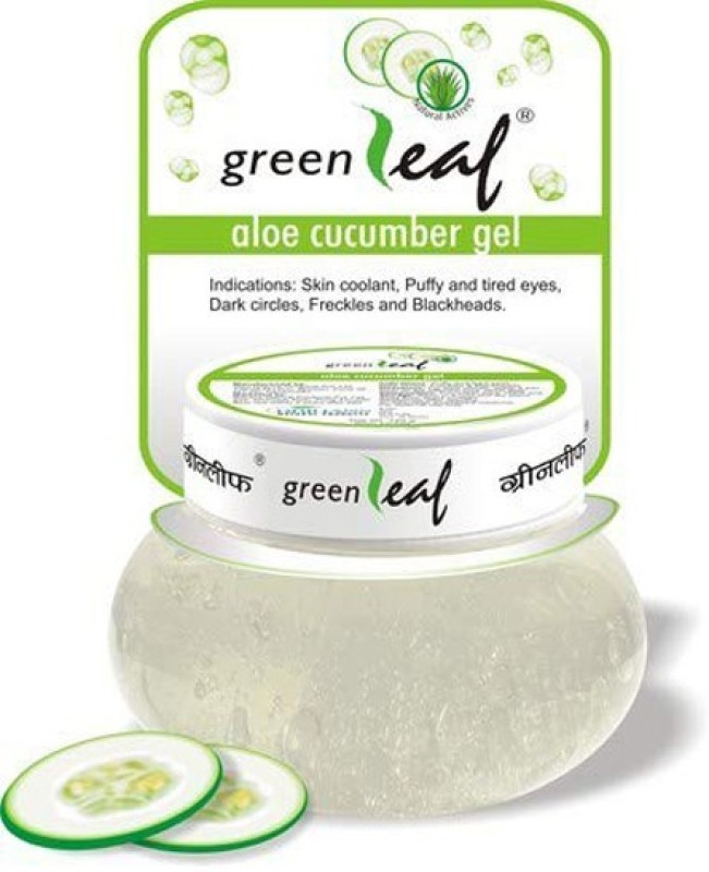 Greenleaf Aloe Cucumber Gel (For Dark Circle Eye & Face ) 120g Wrinkle Eye & Face Eraser
