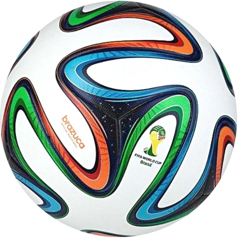 Matrix Brazuca Football - Size: 5(Pack of 1, Multicolor)