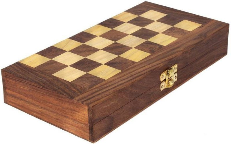 TURBO chessturbo 4 cm Chess Board(Beige, Black, Brown)