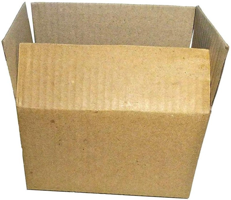 reliable agencies Corrugated Craft Paper Packaging Box(Pack of 6 Brown)