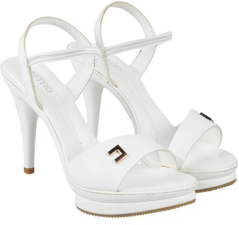 Metro Women 16,White Heels