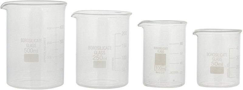 Parshv 500 ml Measuring Beaker(Pack of 4)