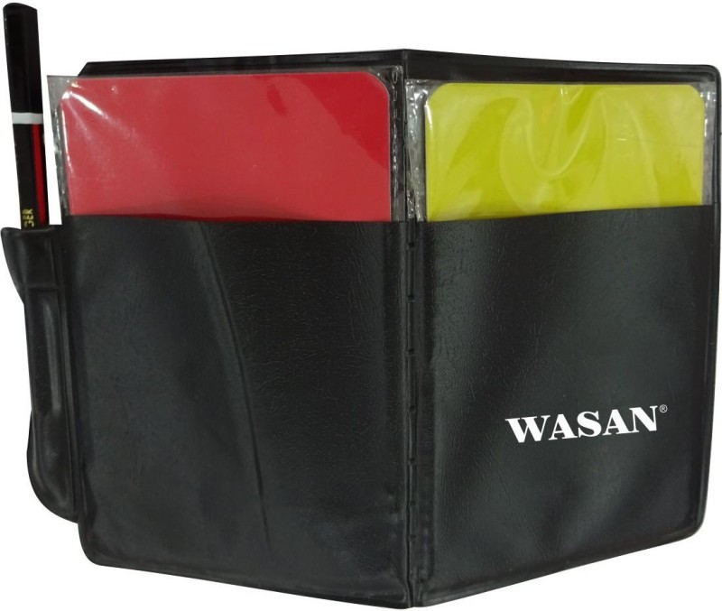 Wasan Football Referee Card Red Yellow (Set of 2) Football Foul Card