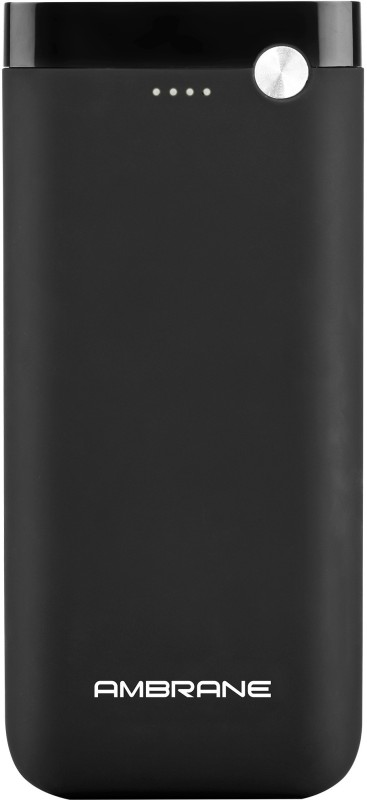 Ambrane 20000 mAh Power Bank (PP-20)(Black, Lithium Polymer)