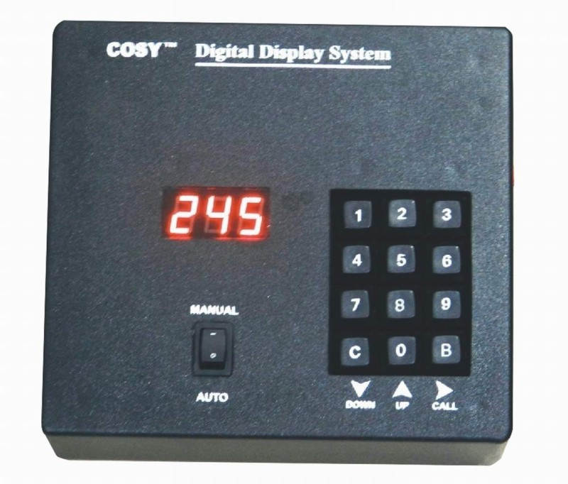 Cosy CT3D4 Token Number Display Indoor PA System(10 W)