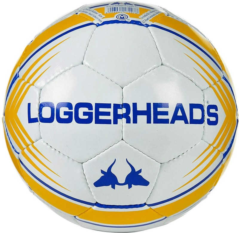 loggerheads Mentor Football - Size: 5(Pack of 1, White)