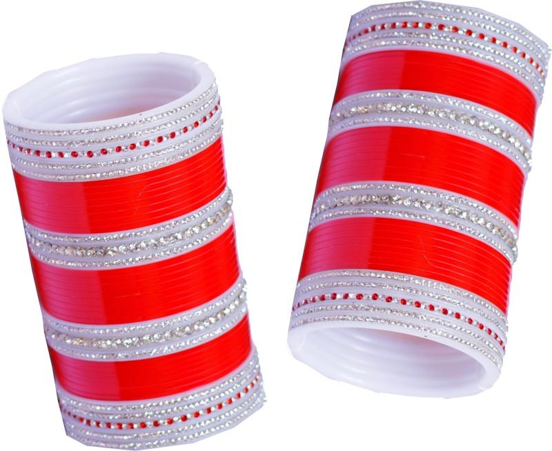 Vivah Bridal Chura Plastic Diamond Chudas(Pack of 60)