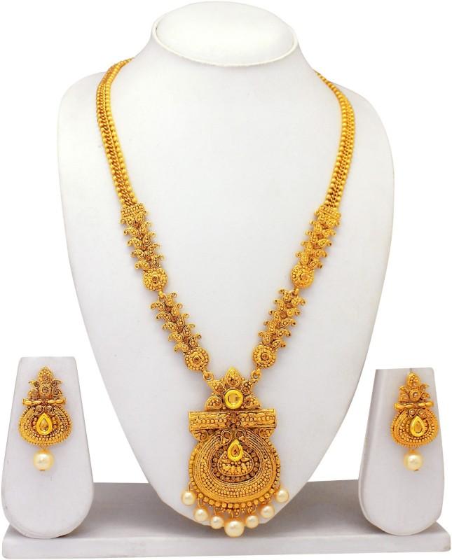 Atasi International Alloy Jewel Set(Gold)