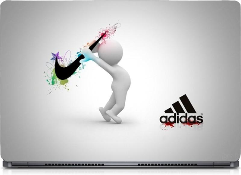 HD Arts Adidas Nike ECO Vinyl Laptop Decal 15.6