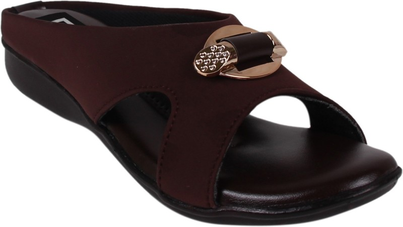 DICY Dicy Casual Flats Sandal For Women Ladies And Girls Brown Color Women Brown Flats