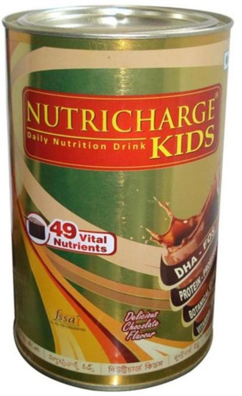 Nutricharge KIDS ( Delicious Chocolate Flavour) Chocolate Flavored Powder(300 g)