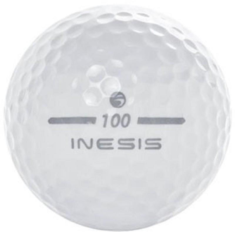 DECATHLON INESIS 100 WHITE BALL (PACK OF 1 ) Golf Ball(Pack of 1, White)