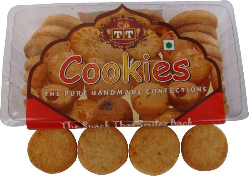 TT T T HANDMADE COCONUT COOKIES(700 g, Pack of 2)