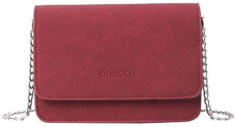 Mei&Ge Red Sling Bag