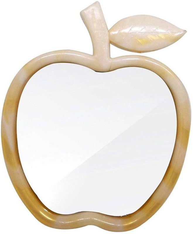 Bueno Apple Shape Shaving Mirror Make-Up Mirror Beauty Mirror For Boy And Girls Pack Of 1