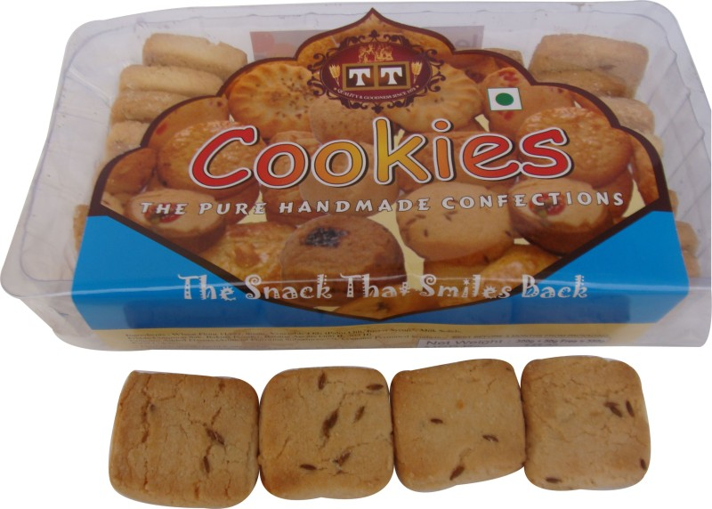 TT Handmade Rich Jeera Cookies(700 g, Pack of 2)