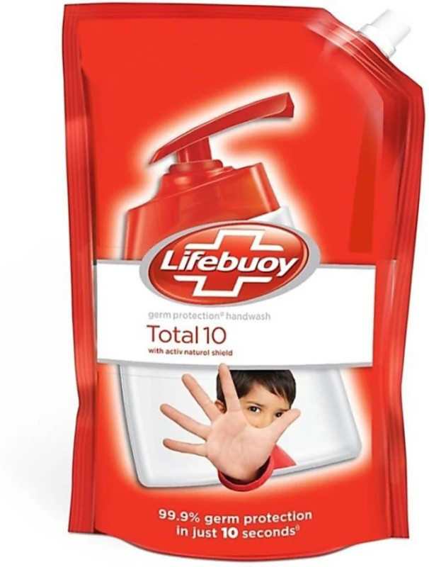 Lifebuoy Total 10 hand-wash refill(750 ml, Pouch)