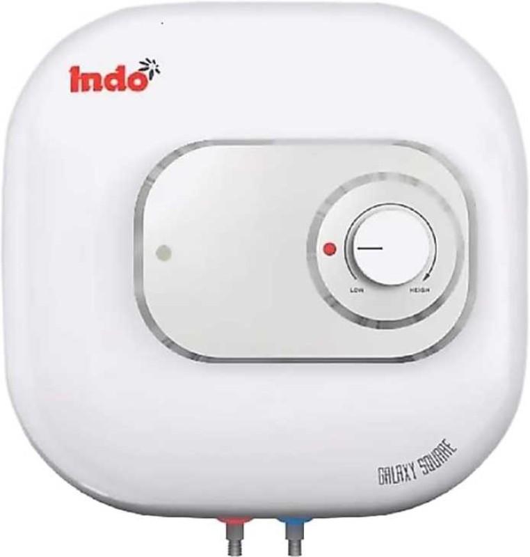 Indo 15 L Storage Water Geyser (Square, White)