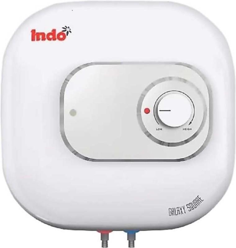 Indo 10 L Storage Water Geyser (Galaxy Square, White)