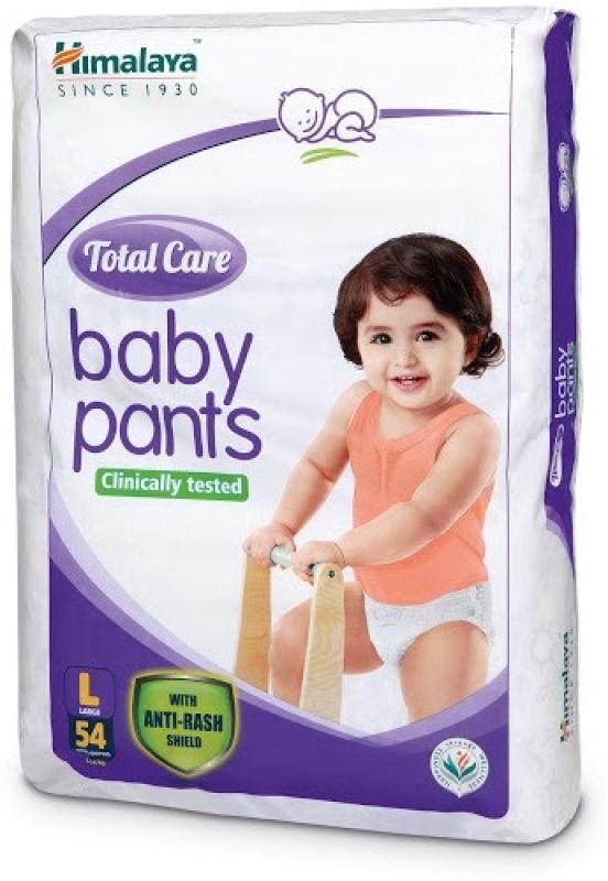 Himalaya Total Care Baby Pants - L(54 Pieces)